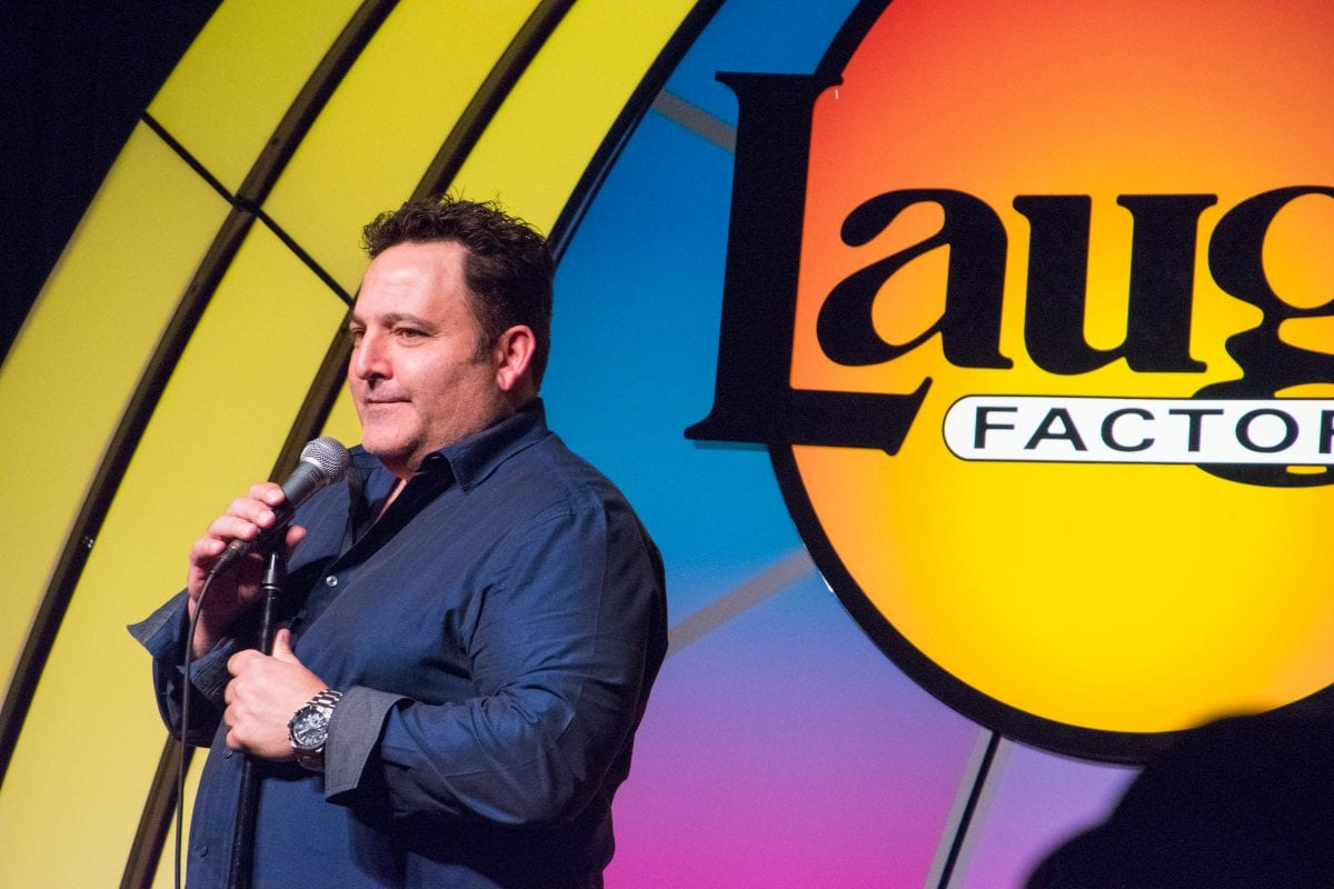 Dougie at Laugh Factory