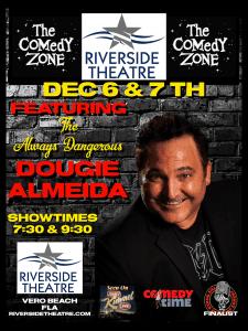 Dec 6-7, 2019 - Comedy Zone - Riverside Theatre, Vero Beach, FL