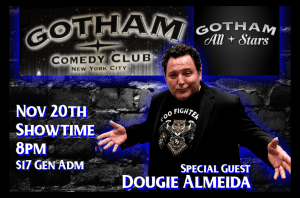 Nov 20, 2019 - Gotham Comedy Club- New York, NY.